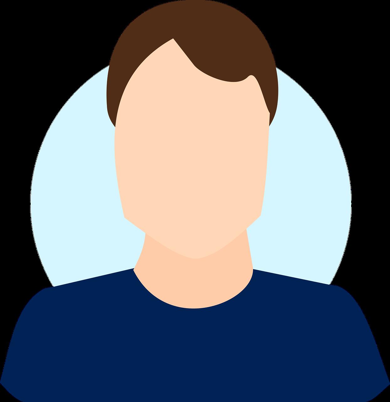 profile, man, male